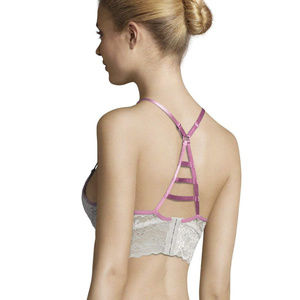 NWT Kensie Racerback Lace Padded Underwire Push-Up